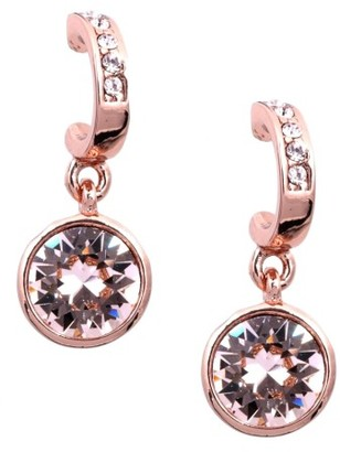 Women's Givenchy Crystal Hoop Drop Earrings $35 thestylecure.com
