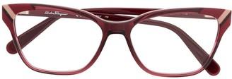 Salvatore Ferragamo rectangular glasses