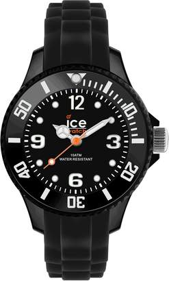 Ice Watch Ice-Watch Men's SI.BK.B.S.09 Sili Collection Plastic and Silicone Watch