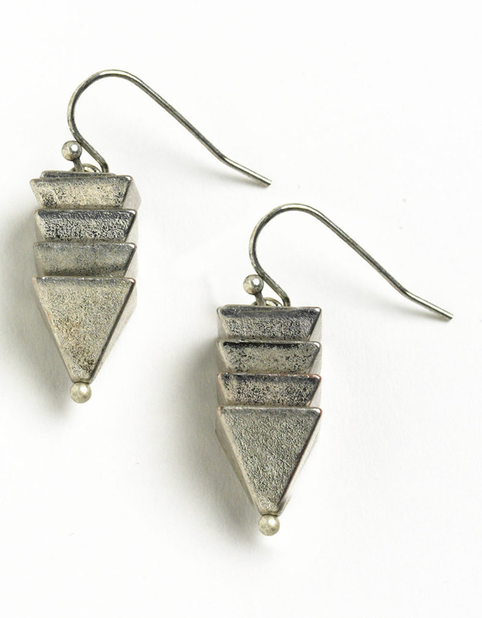 BCBGENERATION Pyramid Earrings