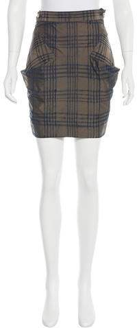 Vivienne WestwoodVivienne Westwood Red Label Plaid Mini Skirt w/ Tags