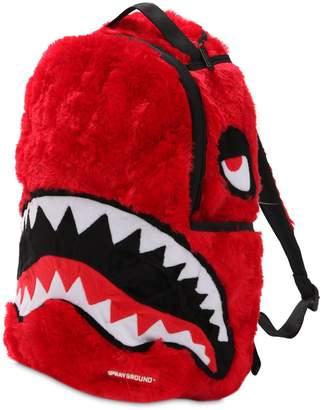 Sprayground Fur Monster Backpack