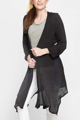 Embellish Lightweight Long Cardigan