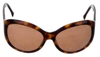 Missoni Acetate Round Sunglasses Brown Acetate Round Sunglasses