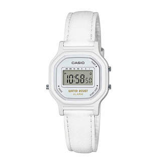 Casio Womens White Strap Watch-La11wl-7a