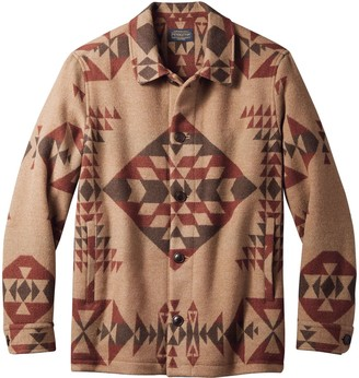 Pendleton Button Front Jacquard Jacket - Men's