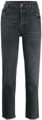 Liu Jo cropped straight-cut jeans
