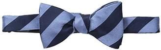 Piattelli Bruno Men's Club Stripe Silk Bow Tie