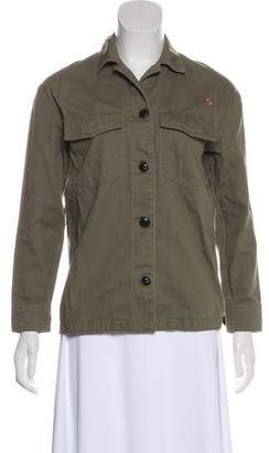 Rag & Bone Button-Up Long Sleeve Casual Jacket