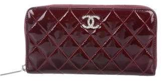 Chanel Brilliant Zip-Around Wallet