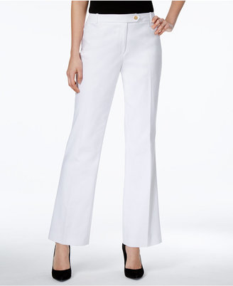 Calvin Klein Straight-Leg Trousers $89 thestylecure.com