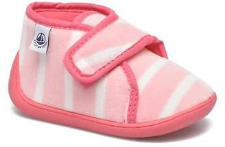 Petit Bateau Kids's PB Medievalo Slippers in Pink