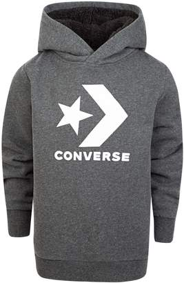 5aaf97f21658 Converse Boys 8-20 Sherpa-Lined Pullover Hoodie