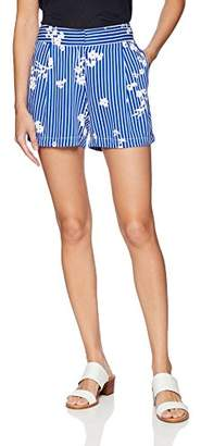 Nautica Women's Loose Drapey Printed Shorts