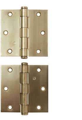 Rejuvenation Pair of NOS 3.5 x 3.5 In Door Hinges by Hager