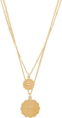 joolz by Martha Calvo Pisces Zodiac Necklace Set