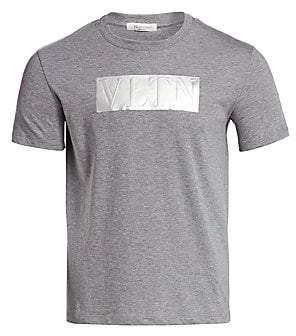 Valentino Men's Embossed Logo T-Shirt