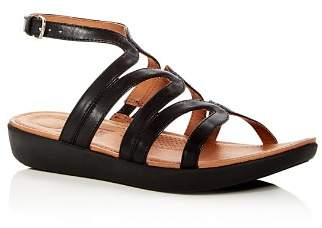 FitFlop Women's Strata Leather Gladiator Platform Sandals