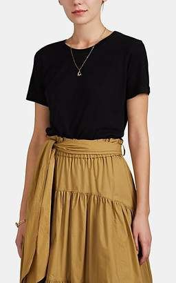 Barneys New York Women's Cashmere Jersey T-Shirt - Black