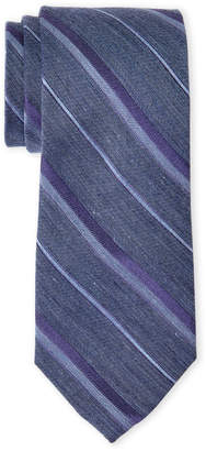 Calvin Klein Purple Stripe Tie