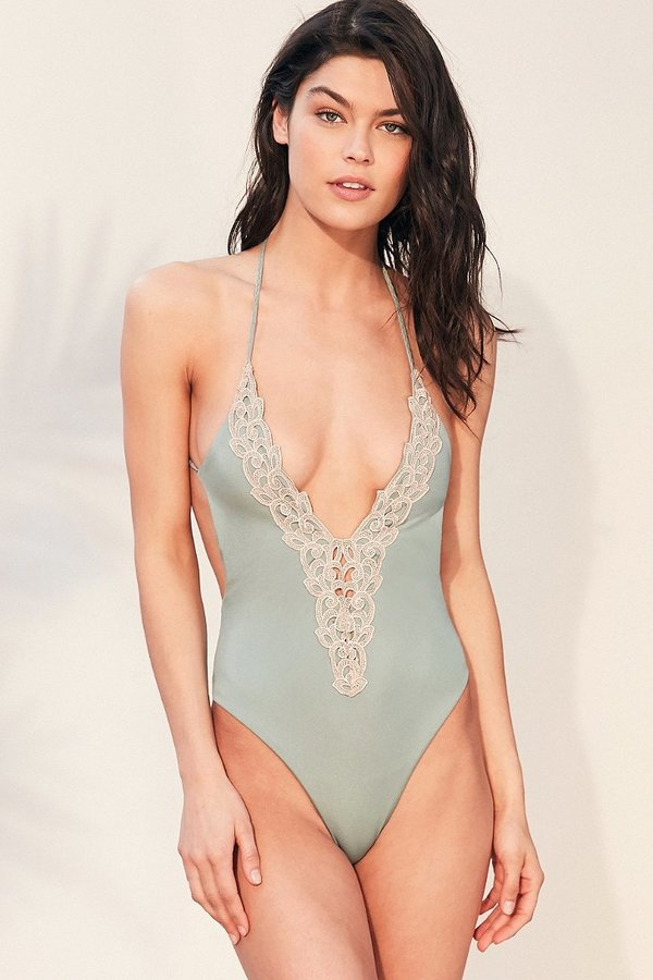 fb960d590b06f Blue Life Mirage Halter One-Piece Swimsuit