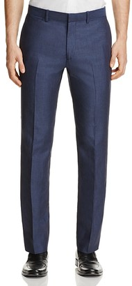 Theory Marlo Tailored Linen Slim Fit Suit Separate Trousers - 100% Exclusive $265 thestylecure.com