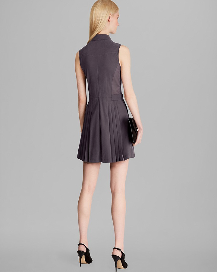 Karen Millen Soft Safari Dress - Collection