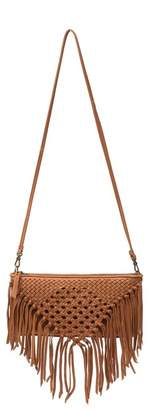 The Sak Filmore Leather Fringe Crossbody