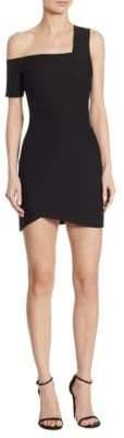 Cinq à Sept Coralisa Asymmetric Mini Dress