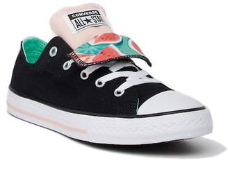 Converse Chuck Taylor All Star Double Tongue Sneaker (Little Kid & Big Kid)
