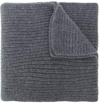 Stone Island rib knit scarf