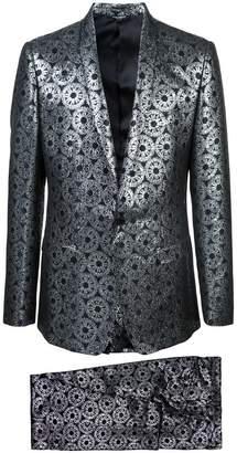 Dolce & Gabbana metallic jacquard suit