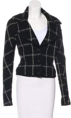 John Galliano Wool Bouclé Jacket