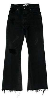 RE/DONE Distressed High-Rise Jeans