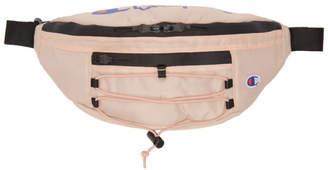 Champion Reverse Weave Pink Lace-Up Logo Belt Bag