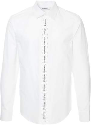 Chalayan classic plain shirt