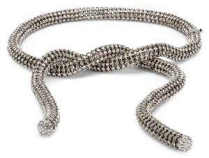 Calvin Klein Swarovski Wrap Belt