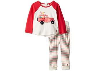 Joules Kids Applique Knit Top and Pants Set (Infant)