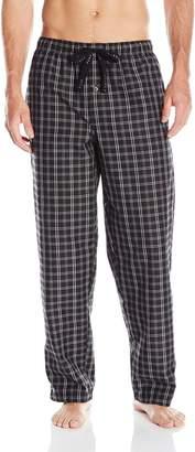 Perry Ellis Men's Woven Plaid Sleep Pant