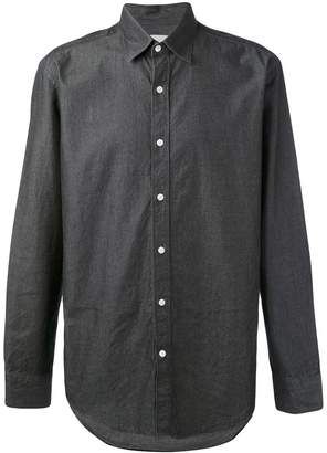 Hardy Amies denim twill shirt