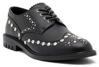 Kelsi Dagger Brooklyn Border Leather Wingtip Oxford