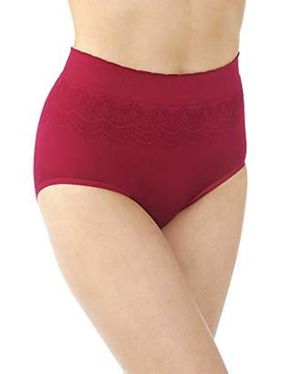 Vanity Fair Women's No Pinch-No Show Seamless Brief Panty 13170