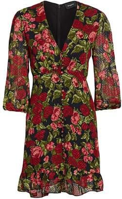 The Kooples Floral Mini Dress