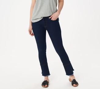 a4ec8100da3 7 For All Mankind Jen7 By Jen7 by Ankle Skinny Jeans with Ruffle Hem