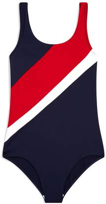 Tommy Hilfiger Flag Print Swimsuit