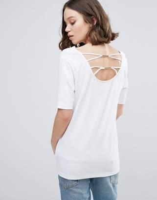 Ichi Lace Back T-Shirt