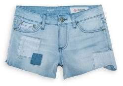 AG Adriano Goldschmied kids Girl's Tarni Hilo Fray Hem Patch Shorts