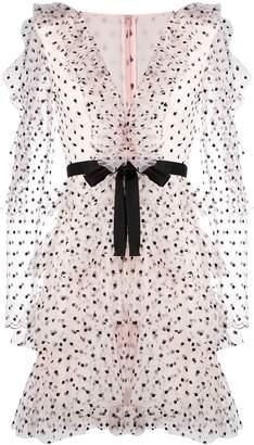Philosophy di Lorenzo Serafini short ruffled dress