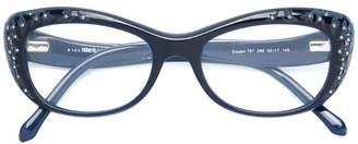 Roberto Cavalli cat eye framed glasses