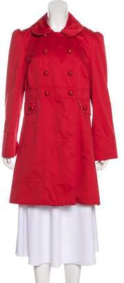 Marc by Marc Jacobs Collared Double-Breasted Coat